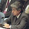 Le Président du Conseil, Adolfo Aguilar Zinser