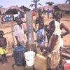 Réfugiés de Sierra Leone au camp de Sinje au Libéria