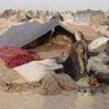 Afghans nouvellement arrivés à la frontière pakistanaise