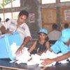 Dépouillement des bulletins de vote au Timor oriental