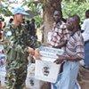 Assistance des casques bleus aux élections en Sierra Leone