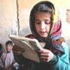 Jeune écolière afghane