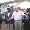 James T. Morris en mission en Afrique australe