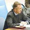 L'Envoyé de l'ONU au Moyen-Orient, Terje Roed-Larsen,