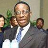 Le président du Conseil de sécurité, Martin Belinga-Eboutou