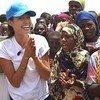 А. Джоли в Кении