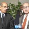 Mohammed ElBaradei et Hans Blix