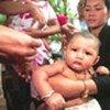 Campagne de vaccination au Cambodge