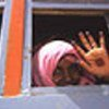 Eritrean refugees returning from the Sudan