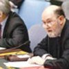 Kieran Prendergast briefs the Council