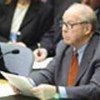 Hans Blix ante <br>el Consejo de Seguridad