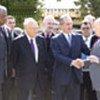 Kofi Annan et les dirigeants chypriotes