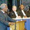 Intervention de Kofi Annan à la cérémonie d'inauguration de la CPI