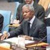 Kofi Annan habla ante<br> el Consejo de Seguridad