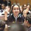 Children participate in lesson at UN Headquarters