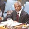 Intervention de Kofi Annan au Conseil de sécurité