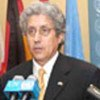 Le Président du Conseil de sécurité, Adolfo Aguilar Zinser