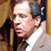 L'Ambassadeur Lavrov s'adresse à la presse