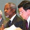 Kofi Annan & ECOSOC President Gert Rosenthal