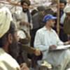 UNHCR worker registers Afghan refugees