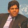 Le Haut Commissaire aux droits de l'homme par intérim, Bertrand Ramcharan