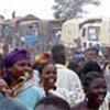 Réfugiés angolais retournant dans leur pays