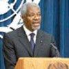 Conférence de presse de Kofi Annan