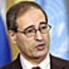 Le Représentant de la Syrie, Fayssal Mekdad