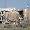L'hôtel Canal, détruit lors de l'attaque terroriste du 19 août 2003 (archives)