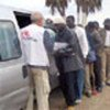 Distribution de repas aux demandeurs d'asile à Ceuta