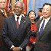 安南与中国政府领导人