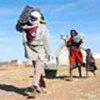 Réfugiés arrivent au camp de Farachana  au Tchad