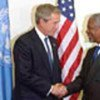 Annan with President Bush (file photo)