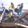 Récolte de crustacés pour l'exportation vers la Namibie