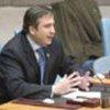 Le Président  Saakashvili intervenant au Conseil de sécurité