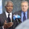 Kofi Annan et Lakhdar Brahimi