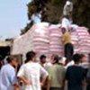 Distribution of food aid