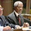 Annan addresses press freedom forum