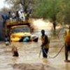Un camion du HCR bloqué par les inondations au Nord-est du Tchad