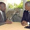 Kofi Annan (Dr.) et le Président ivoirien (archives)