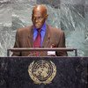 President Abdoulaye Wade of Senegal addresses the General Assembly.
