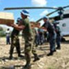 UN Peacekeepers help with food, medical distribution