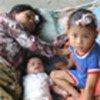 印尼地震灾民