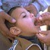 给伊拉克儿童接种疫苗