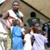 Angolan refugees in Kisenge, DRC