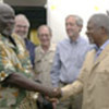 Garang y Annan (archivo)