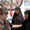Ann Veneman talks with students from Wajir Girls' Primary School