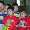 Children at a government-run orphanage