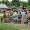 Bhutanese refugees in a camp in eastern Nepal