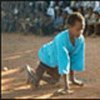 11 year old Somali boy, paralysed by polio